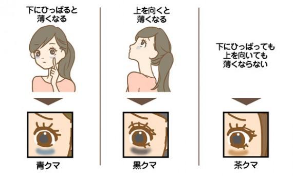 目のクマ に対する画像結果