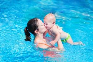 親子 プール