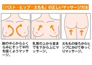 妊娠線クリームの正しいマッサージ方法