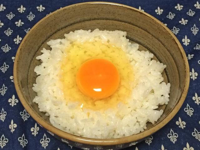 えごま油効果 卵かけご飯