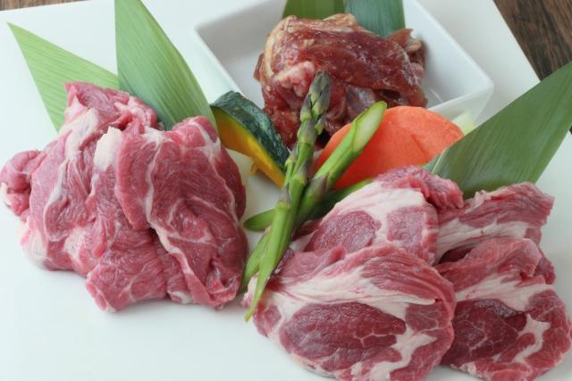 痩せる食べ物 羊肉