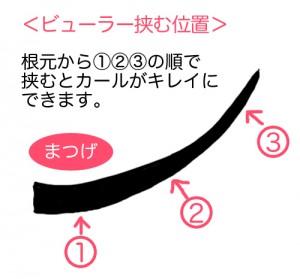 マスカラ_塗り方