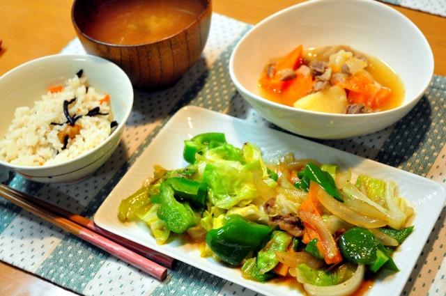 生姜ダイエット 野菜炒め