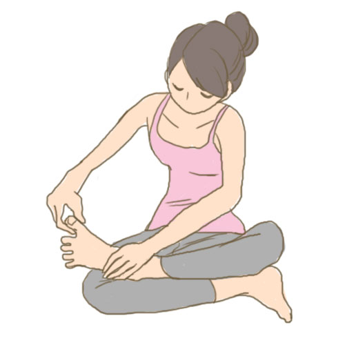 足指 広げる に対する画像結果