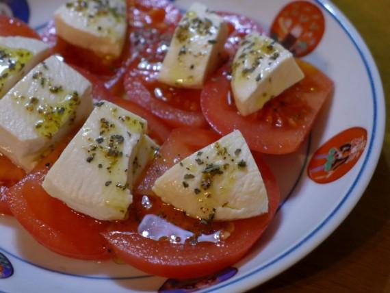 夏バテ 解消 トマトサラダ