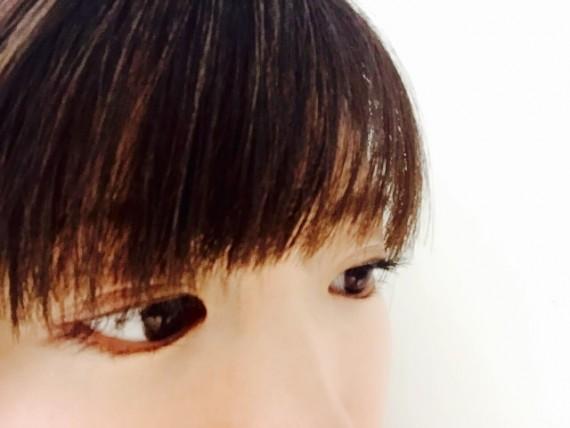 黒目 大きく 目