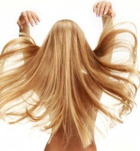 髪の毛 サラサラ