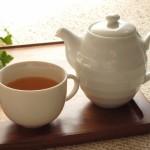 ポットお茶