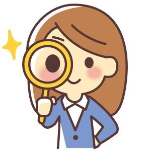 探す 虫眼鏡