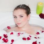 お風呂でリラックスは演出も大事!お風呂で女子力UP☆