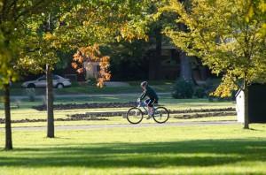 自転車 公園