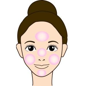 赤ちゃん肌 化粧下地手順1