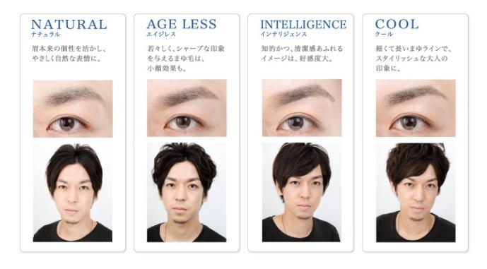 眉毛コレクション