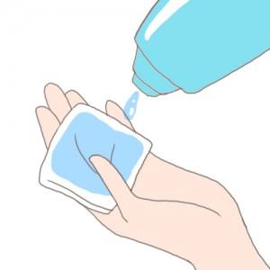 化粧水 つけ方5