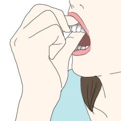歯茎マッサージ2