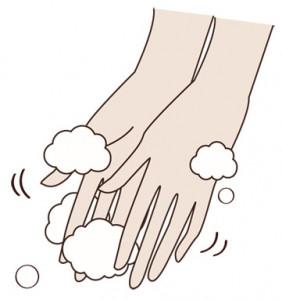 洗顔 手洗い