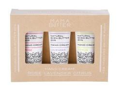 MAMA BUTTER(ママバター)グレイトフルボックス ~3種のハンドクリーム