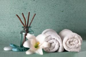 蒸しタオル洗顔