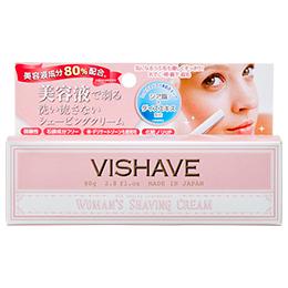 VISHAVE(ヴィシェーブ) シェービングクリーム W