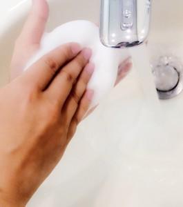 化粧水 パッティング 手