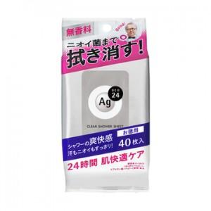 Ag DEO24(エージーデオ24) クリアシャワーシート Na<L> 40枚入
