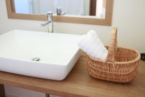ぬるま湯 洗顔②