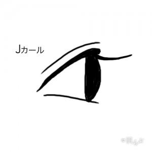 マツエク Jカール2 目
