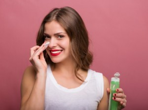 コットン 拭き取り化粧水