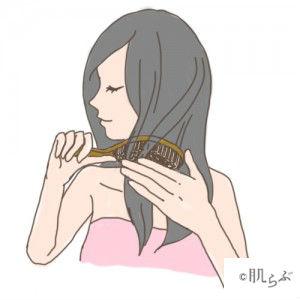 洗髪 頻度 ブラッシング