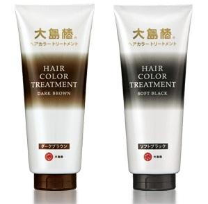 大島椿 ヘアカラートリートメント ヘアマニキュア 白髪 ヘアカラー 白髪染め おすすめ トリートメント