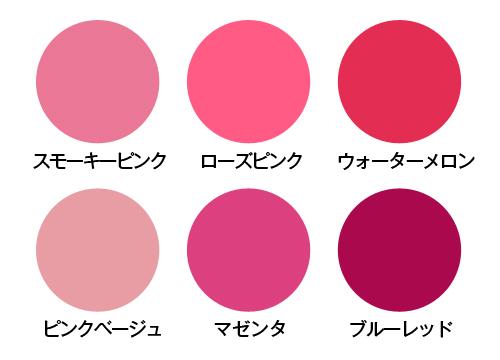 口紅 選び方 ブルーベースカラー図2