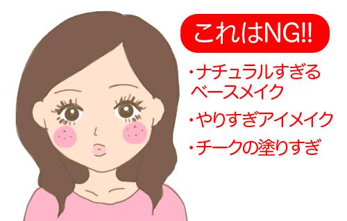 童顔メイク02
