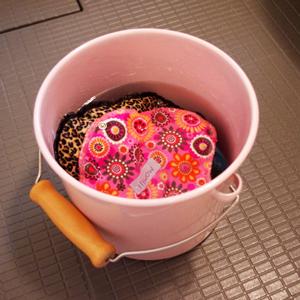 布ナプキン生理痛 洗い方