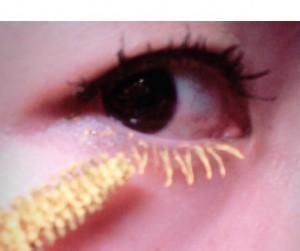 カラーマスカラ 黄色
