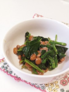 風邪予防 食べ物 モロヘイヤ納豆