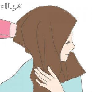 髪の乾かし方 ドライヤー ヘアケア くせ毛 うねり ハネ ボリューム ツヤ さらさら モテ