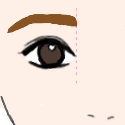 就活 眉毛6