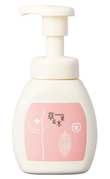 草花木果 泡のスキンケア洗顔