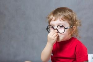 鼻の皮がむける
