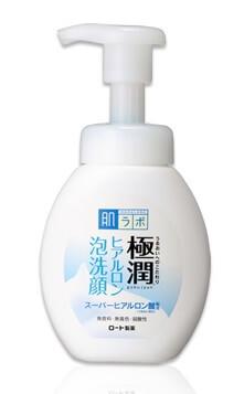 肌ラボ 極潤 ヒアルロン酸泡洗顔