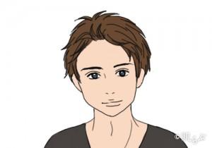 モテ髪 メンズ (ベース型の顔)