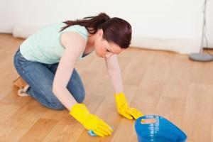 床 水拭き