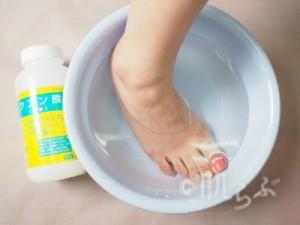 足湯 クエン酸 足が臭い 原因