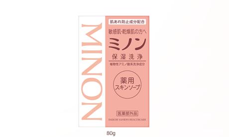 ミノン 洗顔 石鹸