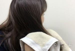 髪 乾かさない 手順1