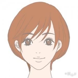 老け顔 特徴_ショートヘア