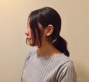 前髪 コテ