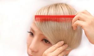 前髪 キープ