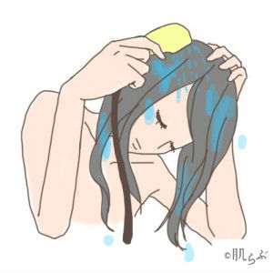 加齢臭 髪 シャワー