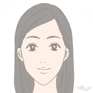老け顔 特徴_面長